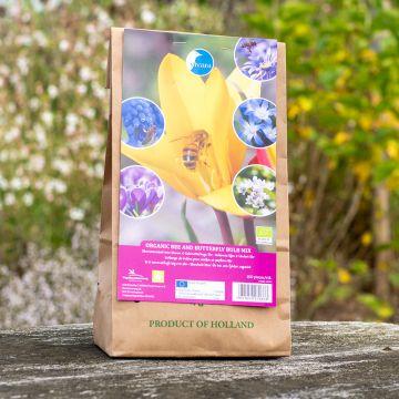 Mélange de bulbes bio pour abeilles et papillons (100 bulbes)