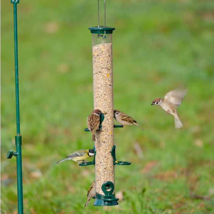 Green Defender 6 port Seed Feeder