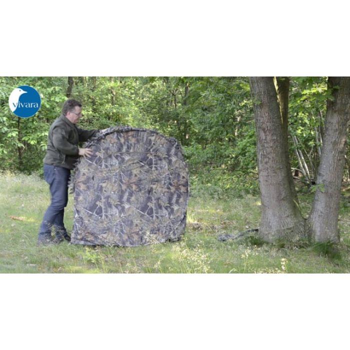 Tente de camouflage carrée - Stealth Gear