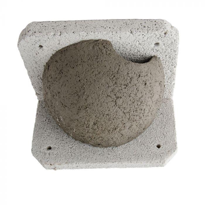 Nichoir WoodStone® pour hirondelles de fenêtre simple - entrée droite