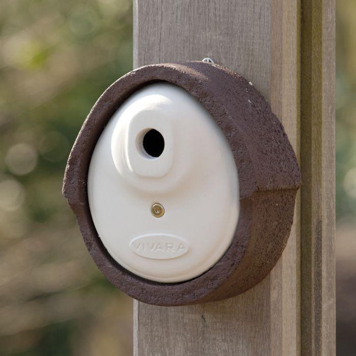 Nichoir Alicante WoodStone ® 32 mm - Brun