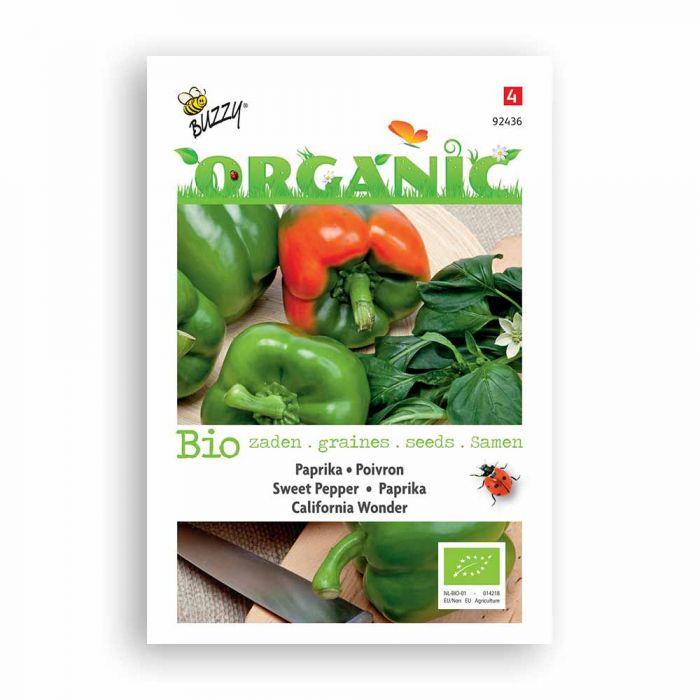 Buzzy® Organic Poivron - California Wonder BIO