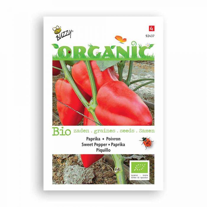 Buzzy® Organic Poivron - Piquillo BIO