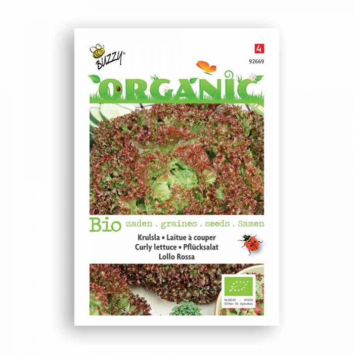 Buzzy® Organic Laitue Rouge à couper - Lollo Rossa BIO