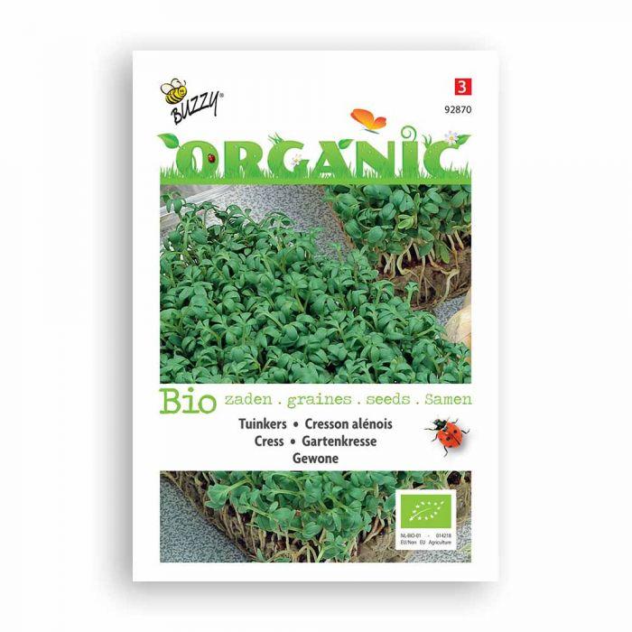 Buzzy® Organic Cresson alénois Commun BIO