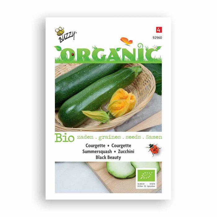 Buzzy® Organic Courgette Black Beauty BIO