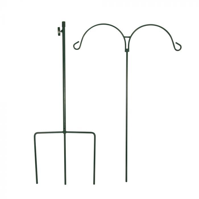 Bâton de berger double (vert)