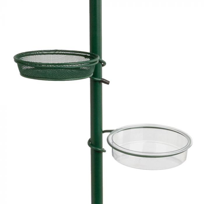 Poteau de nourrissage pour terrasse - vert