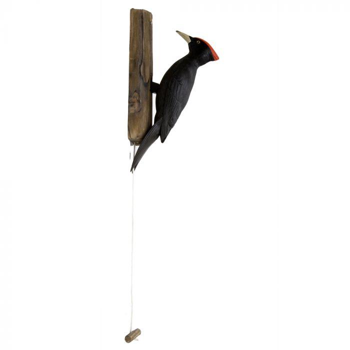 Black Woodpecker Door Knocker