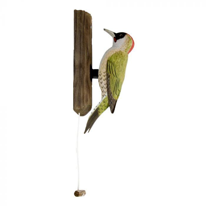 Green Woodpecker Door Knocker