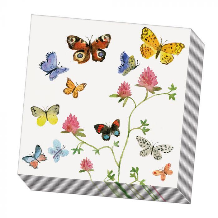 Serviettes Papillon