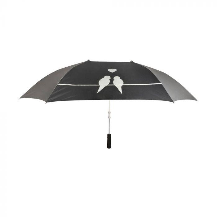 Parapluie Duo avec silhouettes d'oiseaux