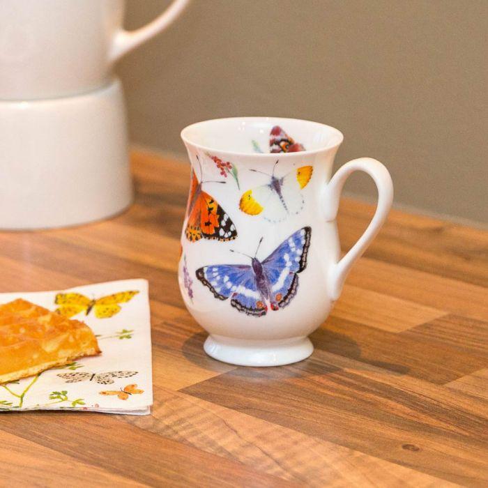 Roy Kirkham Butterfly Mug