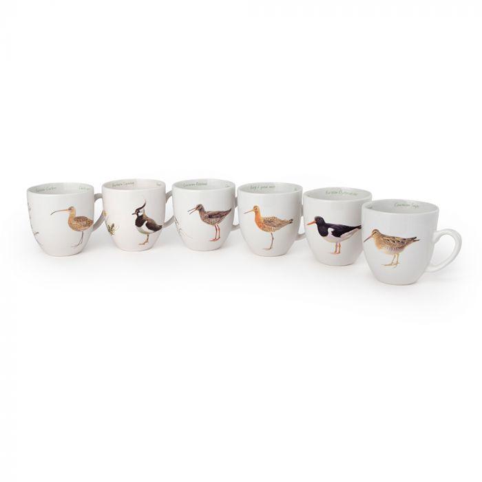 Lot de tasse oiseaux des prairies (Elwin Van Der Kolk)