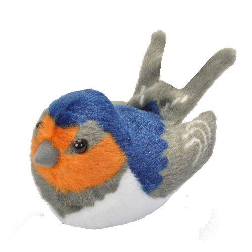 Peluches d'oiseaux avec chant – Hirondelle de cheminée