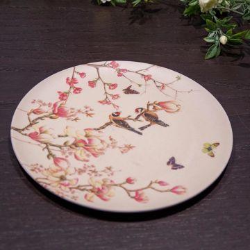 Assiette Magnolia en bambou Janneke Brinkman