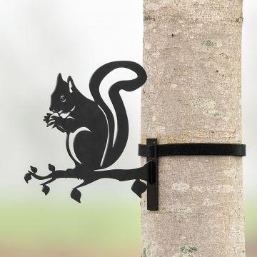 Silhouette en métal – Ecureuil
