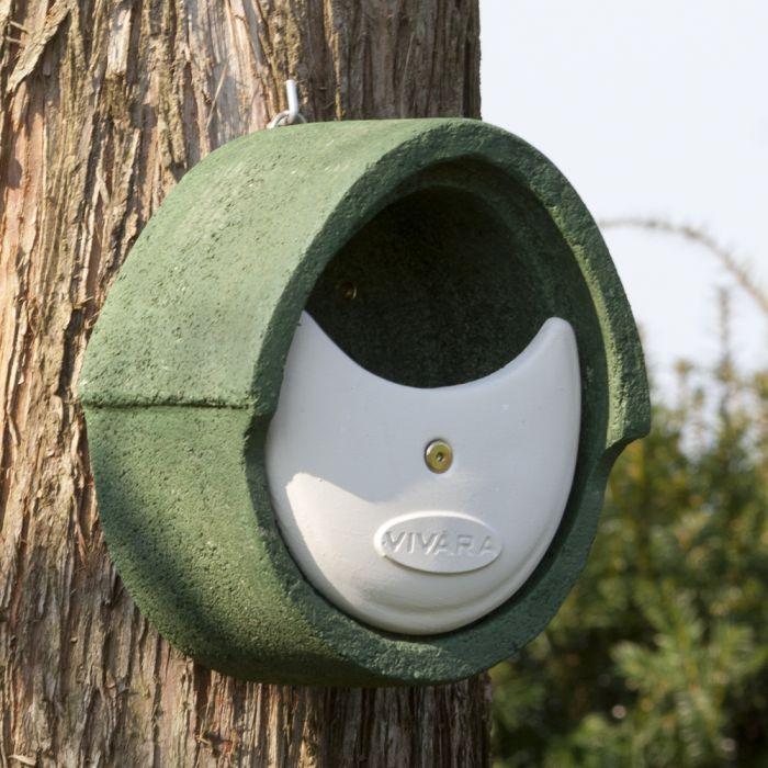 Nichoir ouvert Alicante WoodStone ® - Vert