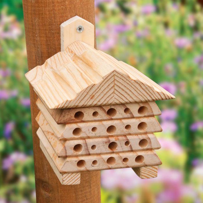 Mini abri pour insectes Bee
