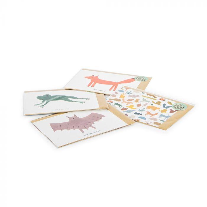 Carte animaux de la forêt – Goodness Gang