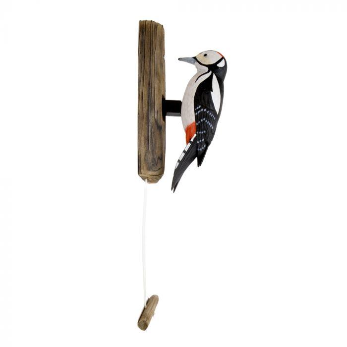 Great Spotted Woodpecker Door Knocker